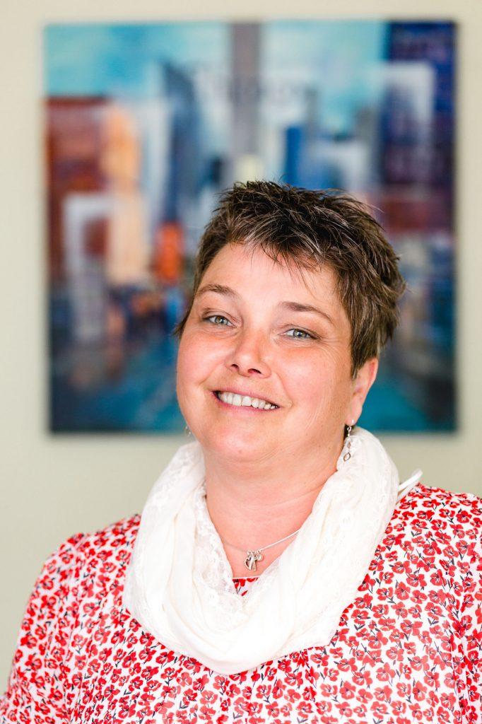 Bürovorsteherin Brigitte Westermann