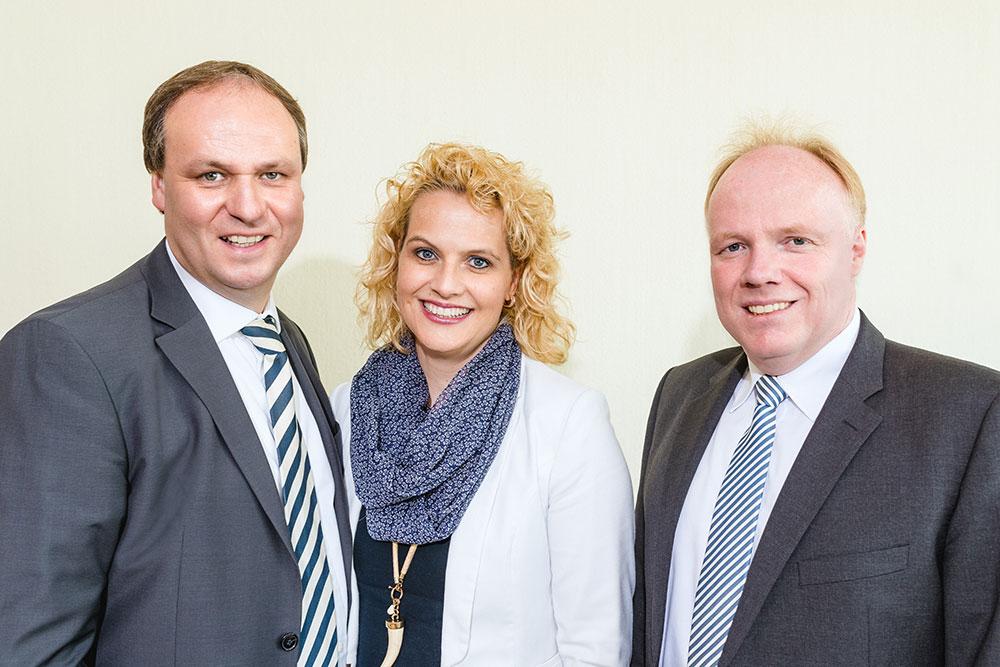 Dr. Gregor Lülf, Nina Lülf, Dr. Roland Havers